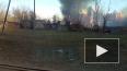 В Парголово произошел пожар в дачном секторе