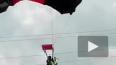 Жуткое видео из Азии: парашютистка приземлилась на ...