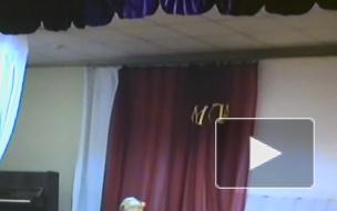 Выступление на минуте славы в школе