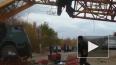 В Самаре при обрушении башенного крана пострадал крановщ...