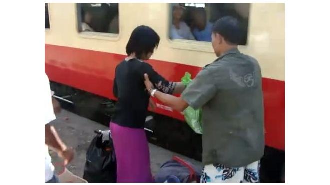 Сесть в поезд на ходу