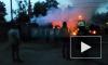 На Парашютной сгорели две бытовки: пострадавших нет