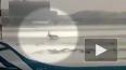 Опубликовано видео из Шереметьево с моментом аварии ...