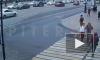 """Появилось видео столкновения """"Киа Рио"""" c троллейбусом на Невском"""