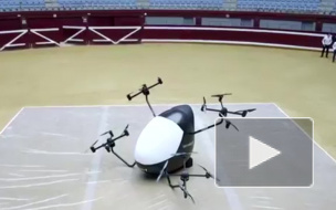 Испания представила модель беспилотного аэротакси
