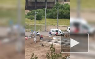 На Ржевской площади экскаватор насмерть задавил старушку
