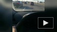 На КАД заметили ребенка за рулем автомобиля