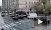 Столкнувшиеся иномарки заблокировали трамваи на проспекте Добролюбова