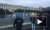 В Петербурге под дождем начался митинг против фальсификаций на выборах