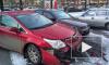 Женщина на Volkswagen протаранила четыре машины на Индустриальном и хотела скрыться