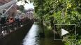 Видео: в Ново-Адмиралтейский канал упал автомобиль