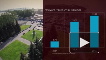 На достройку «Зенит-Арены» из бюджета Петербурга будут выделены 2,6 миллиарда рублей