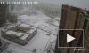 В Мурино мужчина прыгнул с 28-го этажа с парашютом