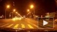 Появилось видео, как уличные гонщики перевернули такси в...
