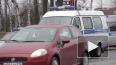 На Пулковском шоссе Lexus протаранил поливальную машину