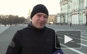 """Петербургский гид проводит """"бегущие экскурсии"""" по центру города"""