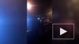 На Кантемировской улице вспыхнуло ярким пламенем такси