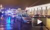 """Видео: у Аничкова моста """"Мерседес"""" вылетел на пешеходов"""