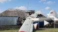 Опубликовано видео с места крушения самолета на частный ...