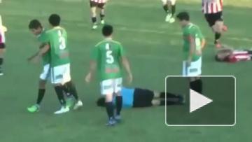 Смерть футбольного арбитра в Мексике