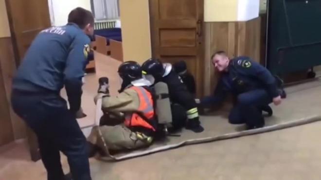 В Петербурге МЧС проверит обстоятельства тренировки, сопровождаемой матом