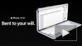 Apple показала на видео складной смартфон iPhone X Fold
