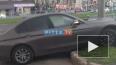 ДТП на улице Сизова: Водитель Bmw влетел в табличку ...