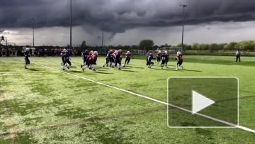 Видео игры женской сборной России против Великобритании