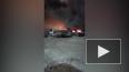 Пожар в автосервисе на Екатерининском возник из-за ...