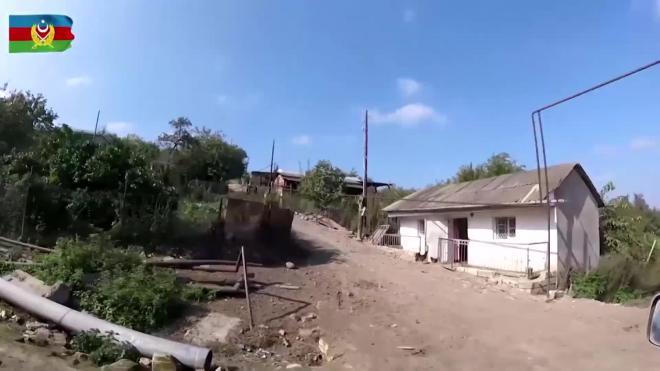 Минобороны Азербайджана показало кадры из освобожденных сел Ходжавендского района