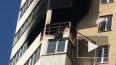 Пожар разбушевался в квартире дома на Октябрьской ...