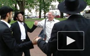 Русский атеист станцевал с сионистами ради мира