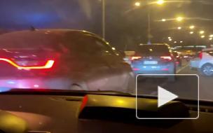 На Приморском проспекте столкнулись 4 автомобиля