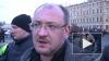 В Петербурге депутат Максим Резник подрался с полицейски...