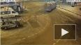 Появилось видео ДТП с рейсовым автобусом в Москве