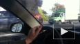 На Московском шоссе горит минивэн
