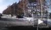 Видео с места тройной аварии под Тюменью, в которой пострадала девочка, появилось в сети