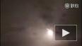 Опубликовано видео падения большого метеорита в Китае