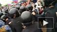 Бойца Росгвардии ударили ножом в спину во время митинга ...