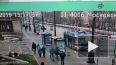 """Белая """"Ауди"""" снесла забор у администрации Московского ..."""