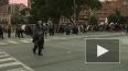 В США полицейские выстрелили резиновыми пулями в российс...