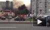 Видео: На Комендантском проспекте горел бизнес-центр