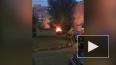 На Гаккелевской улице вечером спасатели тушили пожар ...