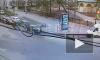 Авария на перекрестке Херсонской и Бакунина попала на видео