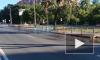 Видео: на проспекте Тореза произошел прорыв трубопровода
