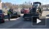 Видео: в Выборге продолжается генеральная уборка городских улиц
