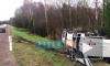 "Появилось видео аварии на трассе ""Скандинавия"": столкнулись автобус и Mitsubishi"