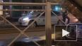 Ночью на трамвайных путях в Приморском районе застало ...