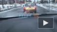 Очевидцы: в Отрадном вместе со снегом сошел асфальт ...