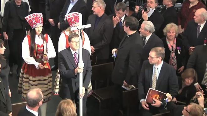 Открыли после реставрации. Эстонская лютеранская церковь